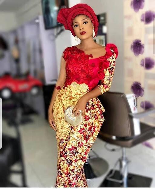The 20 Best of Owambe Aso Ebi Dresses 33