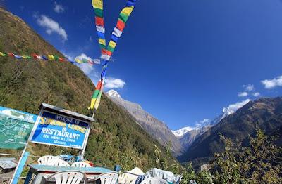 Sinuwa at Annapurna Base Camp Trekking