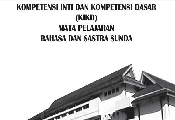 KI KD Bahasa Sunda SMP-MTs Kurikulum 2013