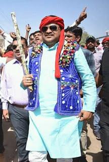 बगैर अनुमति के बाहर से अलीराजपुर नगर में आने वाले लोगो के खिलाफ कड़ी कार्यवाही हो - महेश पटेल