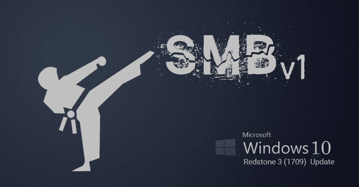 Microsoft to Remove SMBv1 Protocol in Next Windows 10 Version (RedStone 3)