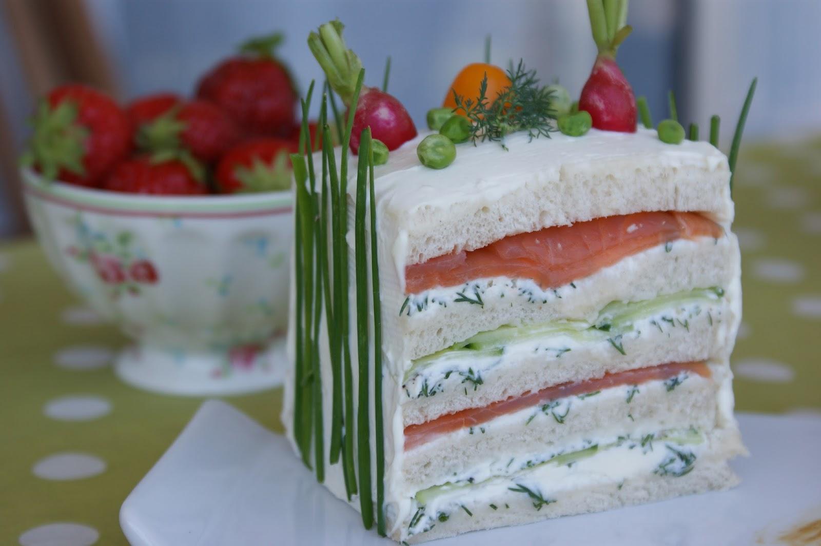 Cake Kiri Saumon