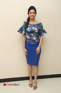 Actress Mouryani Stills in Short Dress at Janaki Ramudu Audio Launch  0242