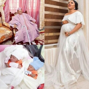 Alaafin of Oyo's 3rd Wife Gives Birth to Twins, Making Third Set of Twins for The King