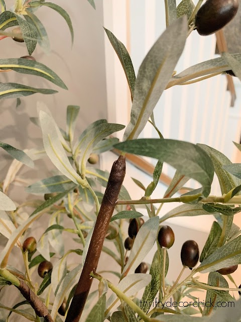 Make a DIY faux olive tree for less from Thrifty Decor Chick