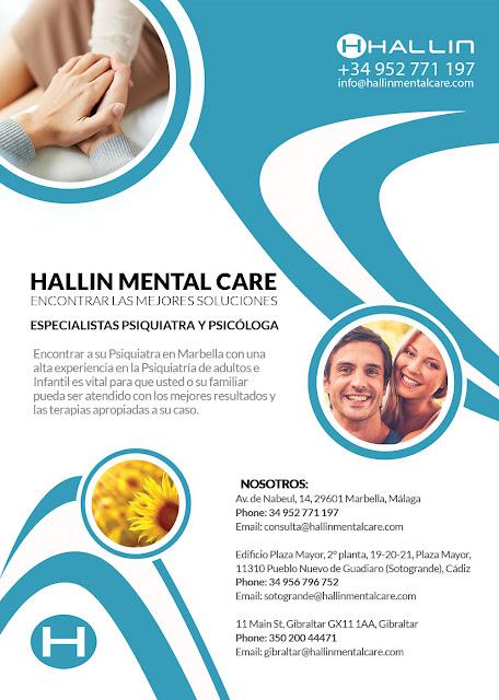 Especialistas Psiquiatra y Psicóloga Psiquiatra Marbella Hallin Mental Care encontrar las mejores soluciones