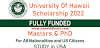 Study in USA University of Hawaii Scholarship in USA 2022 (FULLY FUNDED)
