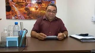 Vereador  Nal Fernandes MDB de Guarabira em Live dos 100 dias de mandato presta contas de sua atuação parlamentar