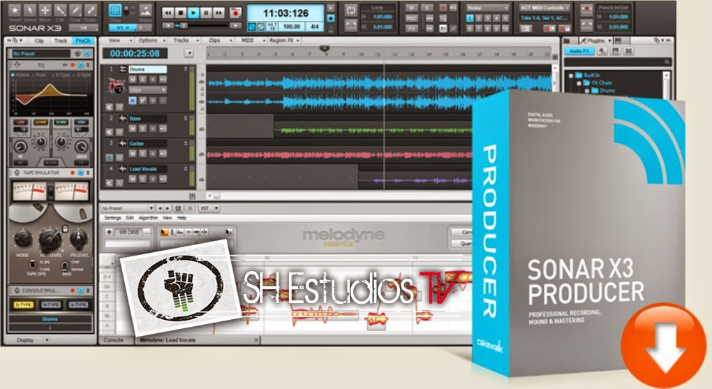 Buy Cakewalk Sonar X3 Producer- Full Boxed Edition in Cheap Price on fixofp.me