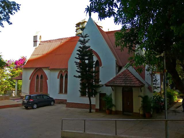 st. stephens church, protestants, bandra, heritage, history, mumbai, incredible india