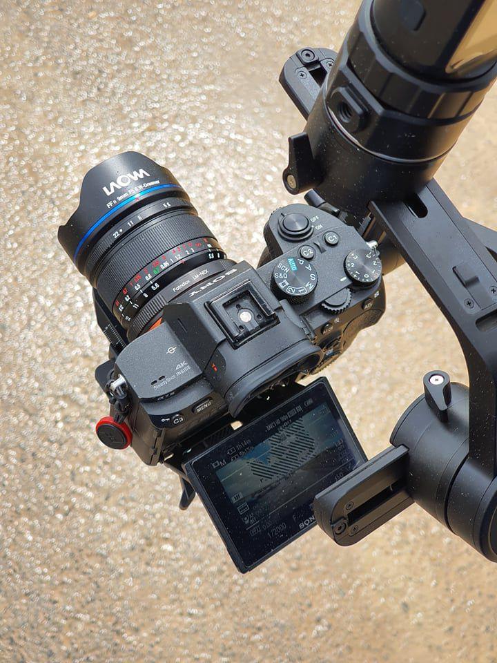 Laowa 9mm f/5.6 + Sony A7 Mark III + FeiyuTech AK4500