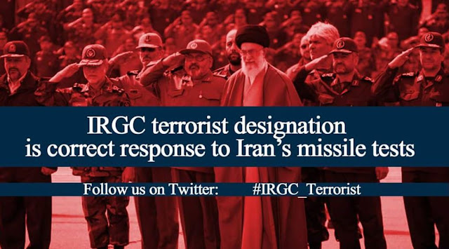 Iran IRGC must be labled as terrorist org