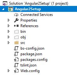angular 2 setup