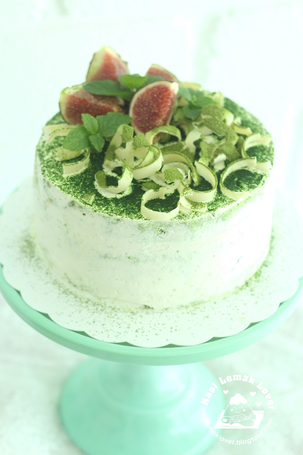 nasi lemak lover matcha sponge cake. Black Bedroom Furniture Sets. Home Design Ideas