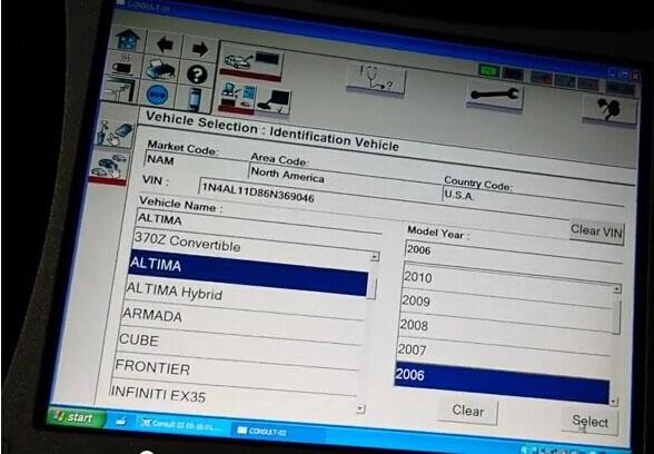 DAS XentryでW211 E320AVGを診断した | OBD2 vehicle diagnostics