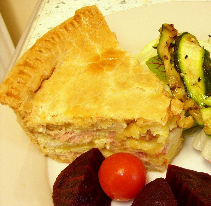 Kentish Recipes: Jenny Eatwell's Rhubarb & Ginger: Kentish Pie