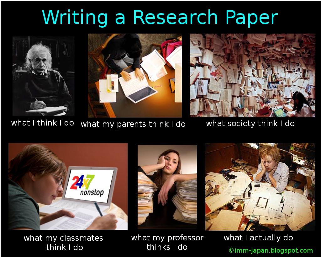 Research action paper meme