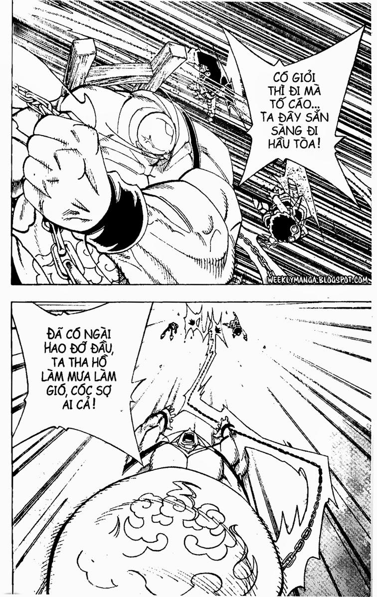Shaman King [Vua pháp thuật] chap 152 trang 5