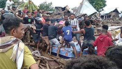 Korban Tewas Bencana Banjir Hingga Longsor di NTT Jadi 84 Orang