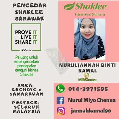 Pengedar Shaklee Kuching 0143971595