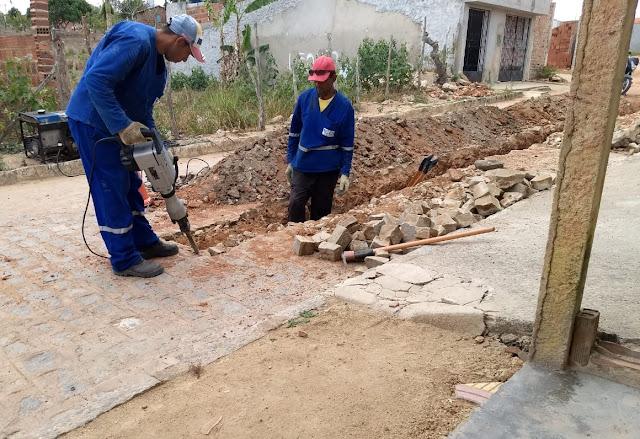 Distrito de Pirituba em Vitória de Santo Antão recebe sistema de abastecimento de água
