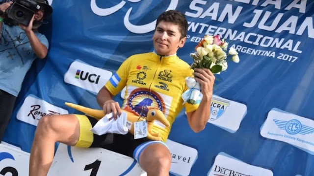 Ciclista argentino Nicolás Naranjo morreu em 12 de setembro - Foto: COPACI