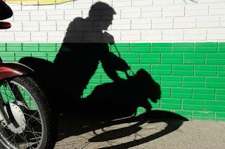 Motocicleta Pop é furtada no bairro Santa Luzia