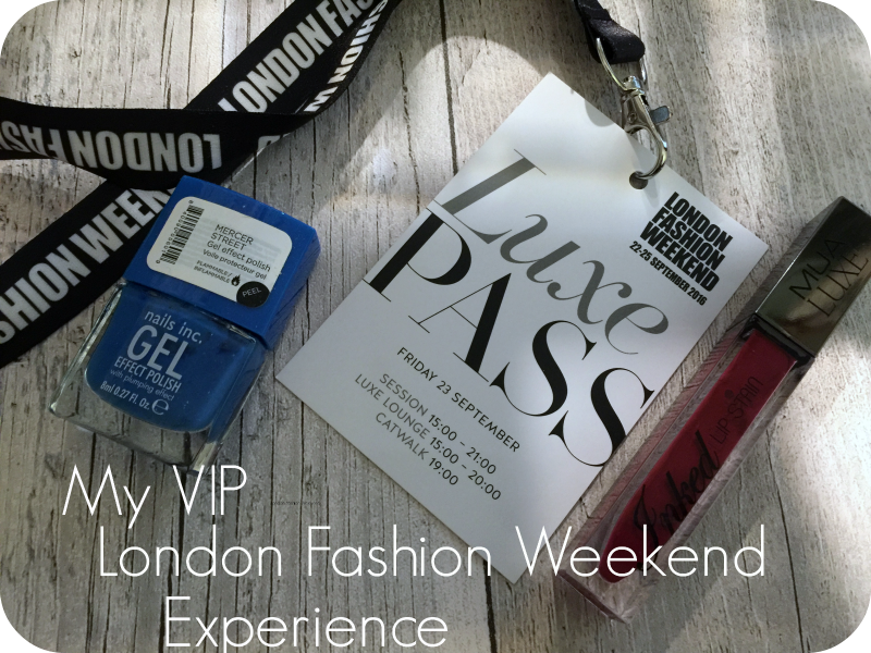 my vip london fashion weekend experience