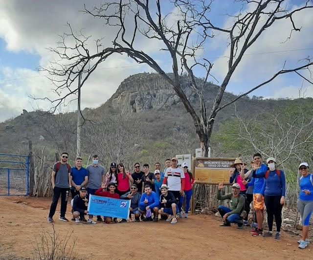 Serra do Pará recebe visita de grupo de pessoas surdas