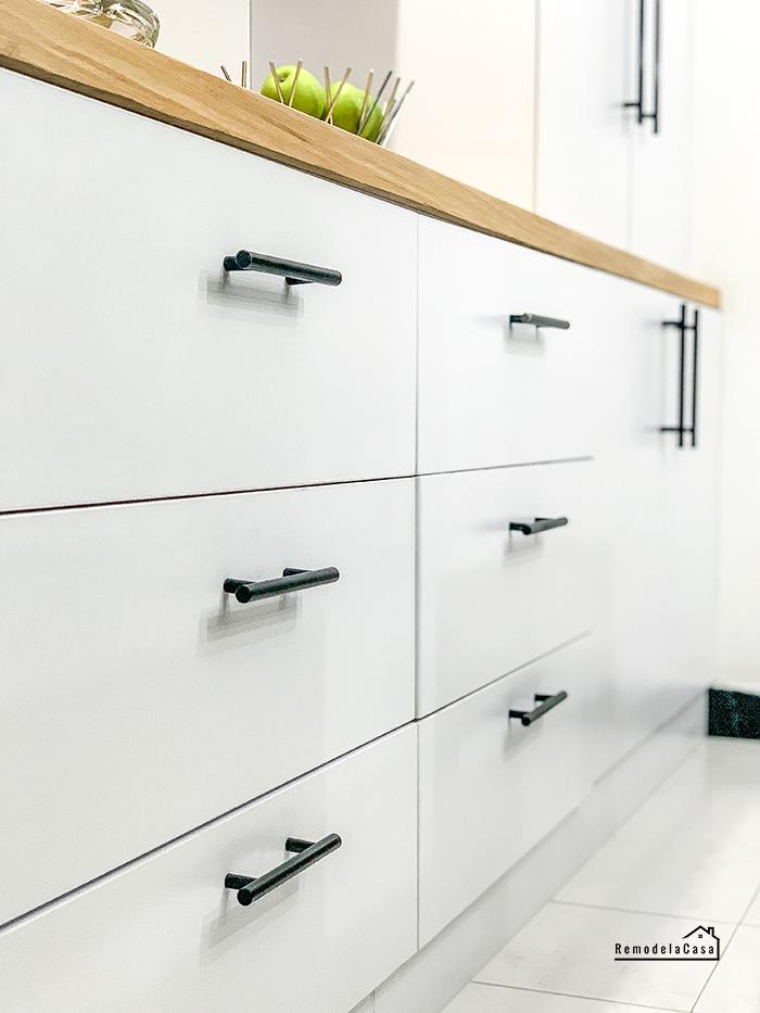 Dining room storage drawers