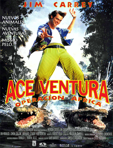 Ver Ace Ventura 2: Un loco en África (1995) Online