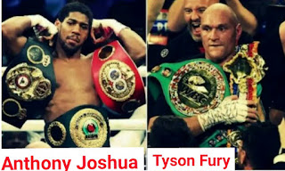 Eddie Hearn announces that Tyson Fury and Anthony Joshua agrees  to a two fights deal