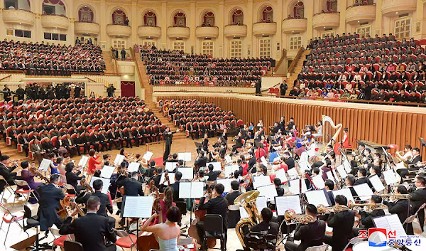 (2) Performances of the symphony orchestra of the State Grand Theatre of China at Samjiyon Orchestra Theatre, Pyongyang, December 1, 2019