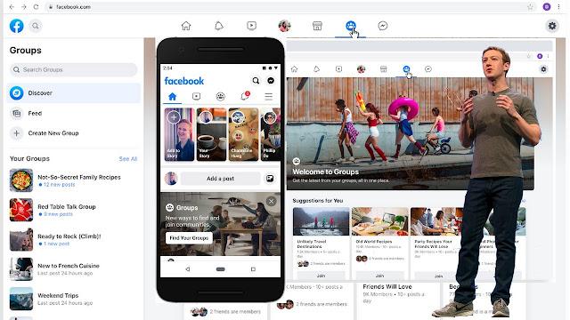 آخر تحديثات فيس بوك لعام 2020 حتى الآن شكل العام للفيسبوك