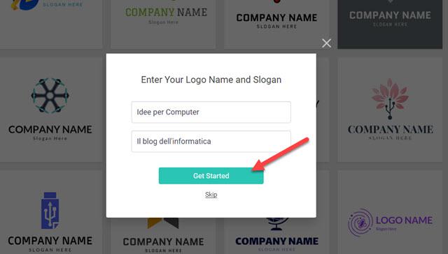 creare un logo online