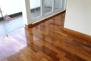 lantai kayu jati parket grade a