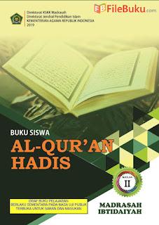 Revisi 2019 Buku Al-Quran Hadis Siswa MI Kelas 2-II Kurikulum 2013