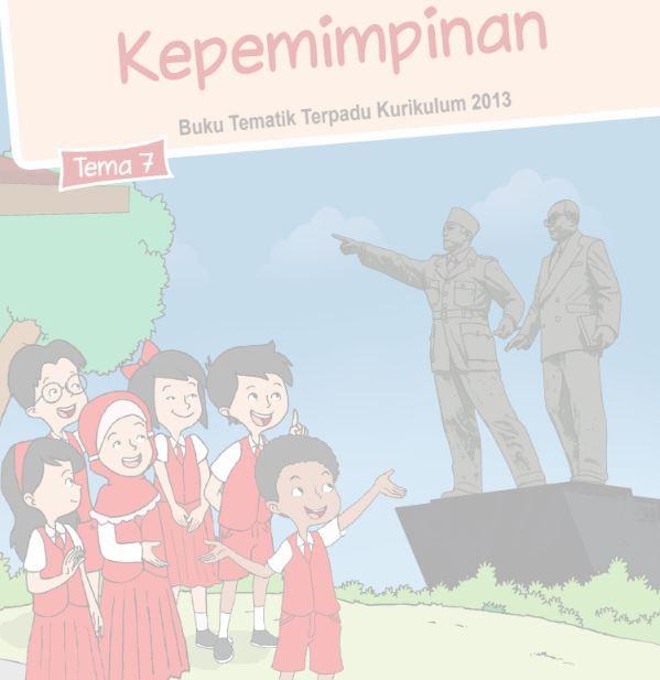Buku Siswa Kelas 6 SD/MI Tema 7: Kepemimpinan