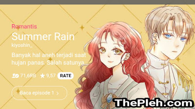 Manhwa Summer Rain