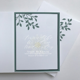 By Angie McKenzie for Around the World on Wednesday Blog Hop; Click READ or VISIT to go to my blog for details! Featuring the retiring Vine Design Bundle in the January-June 2021 Mini Catalog by Stampin' Up!®; #stepitupcards #stamping #aroundtheworldonwednesdaybloghop #awowbloghop #vinedesignbundle #vinedesignstampset #floweringvinedies #naturesinkspirations #diystationery #diycrafts  #makingotherssmileonecreationatatime #diecutting #cardtechniques #stampinup #handmadecards #stampincutandembossmachine #stampinupcolorcoordination #simplestamping #fussycutting #papercrafts