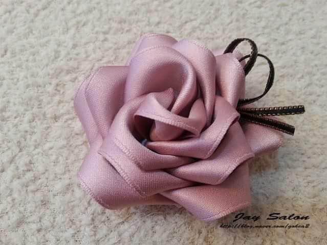 Tutorial Buat Bunga Rose Riben