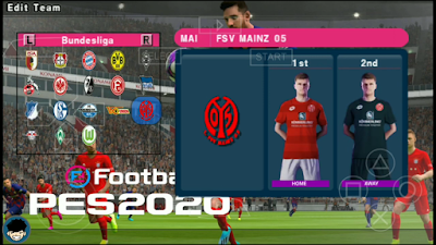 eFootball PES 2020 PPSSPP Camera PS4 English Version Season 2019/2020