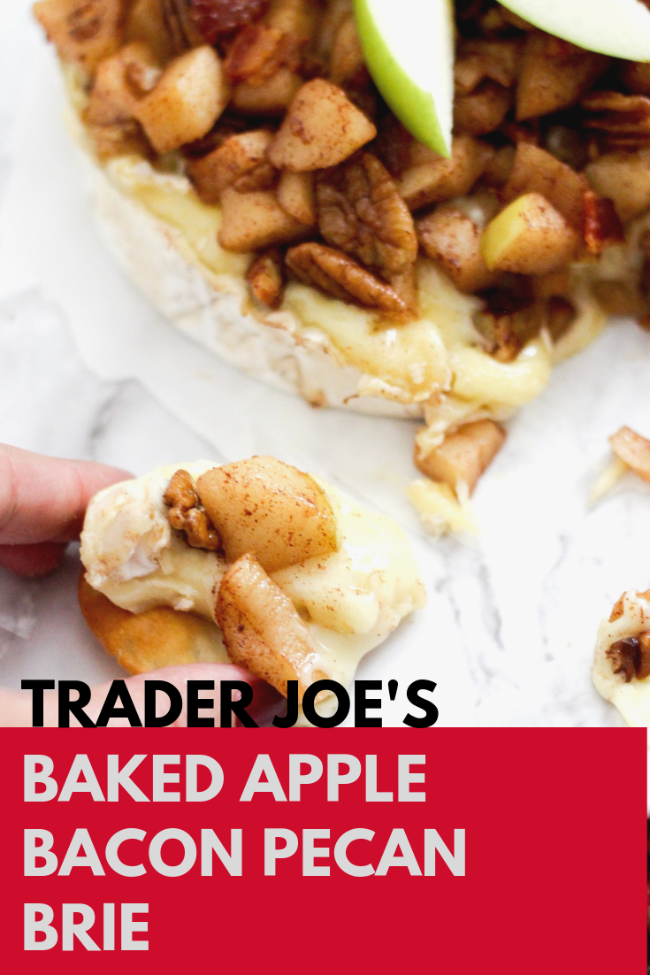 Trader Joe's Baked Apple Bacon Pecan Brie