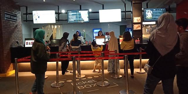 Loket tiket CGV Bekasi CyberPark