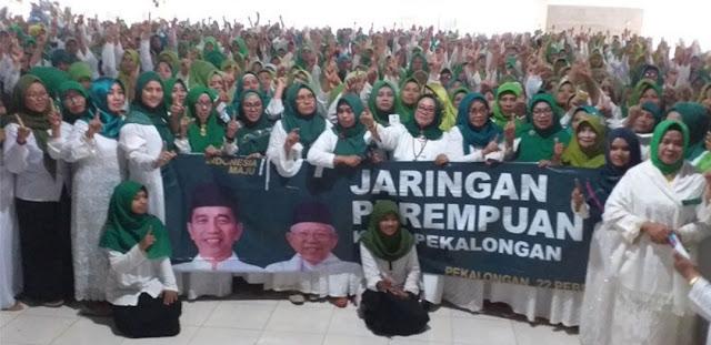 Cegah Radikalisme, Jaringan Perempuan NU Siap Bersatu Padu Menangkan Jokowi-Ma'ruf Amin