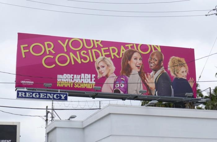 Kimmy Schmidt 2019 Emmy FYC billboard