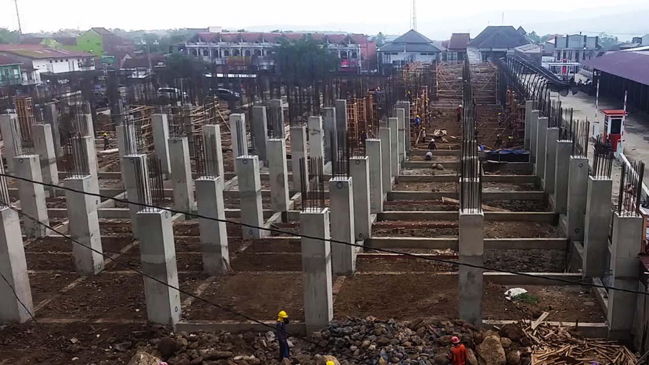 Bupati Pemalang Pembangunan Pasar Randudongkal Selesai Oktober 2020
