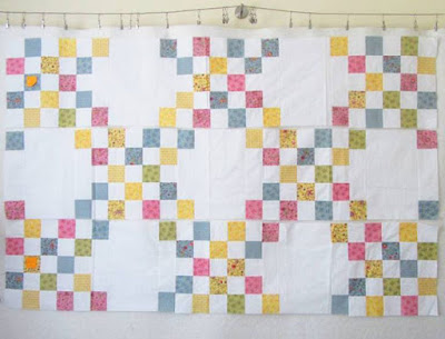 irish chain quilt from new every morning patchwork and quilting