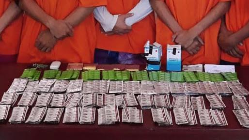 Kejar Jaringan Pengedar Obat Keras Ilegal ,Sat Resnarkoba Bitung bekuk Pelaku di Jakarta
