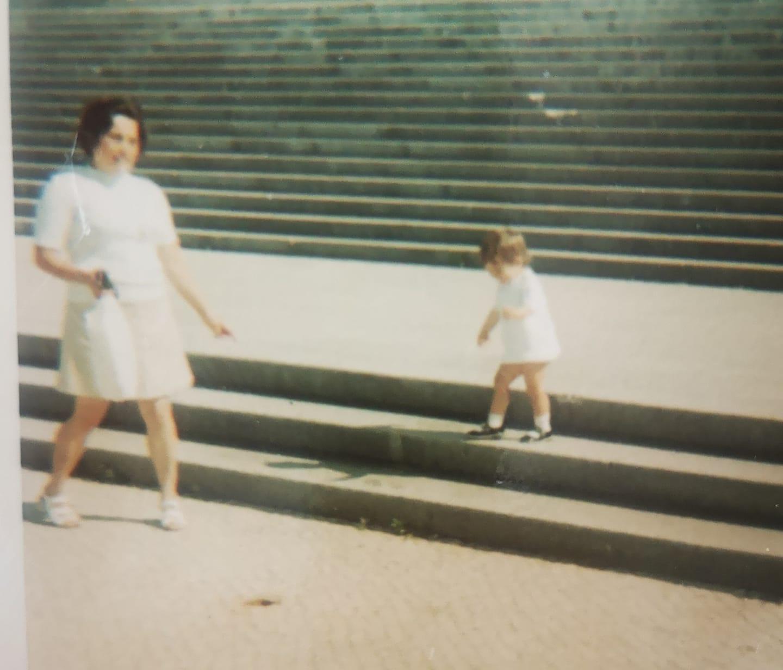 A minha mãe e eu